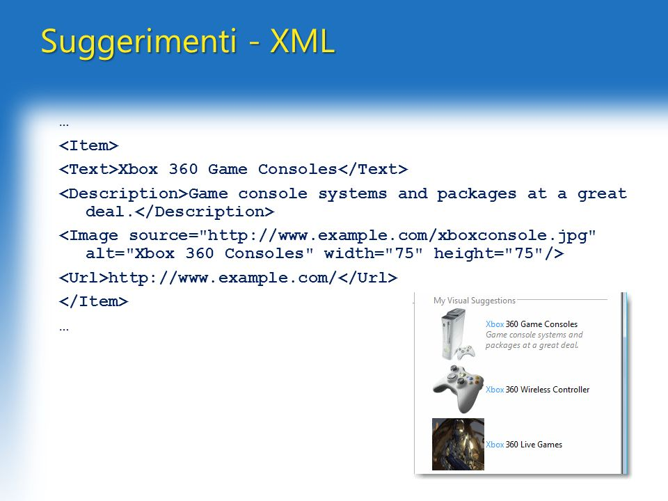Suggerimenti - XML … Xbox 360 Game Consoles Game console systems and packages at a great deal.