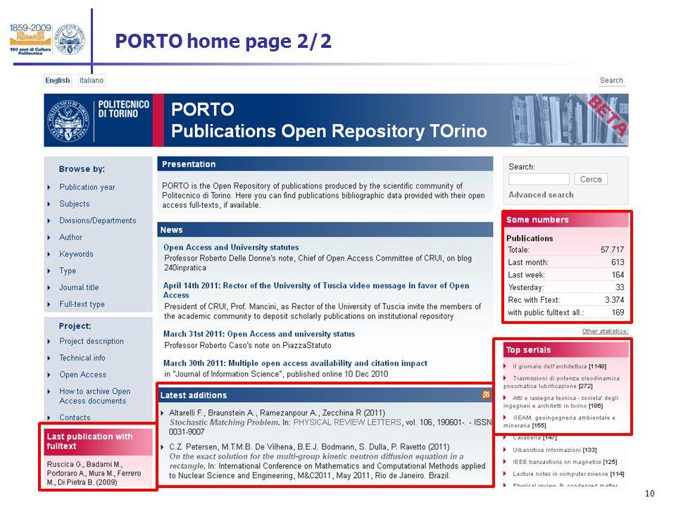 10 PORTO home page 2/2