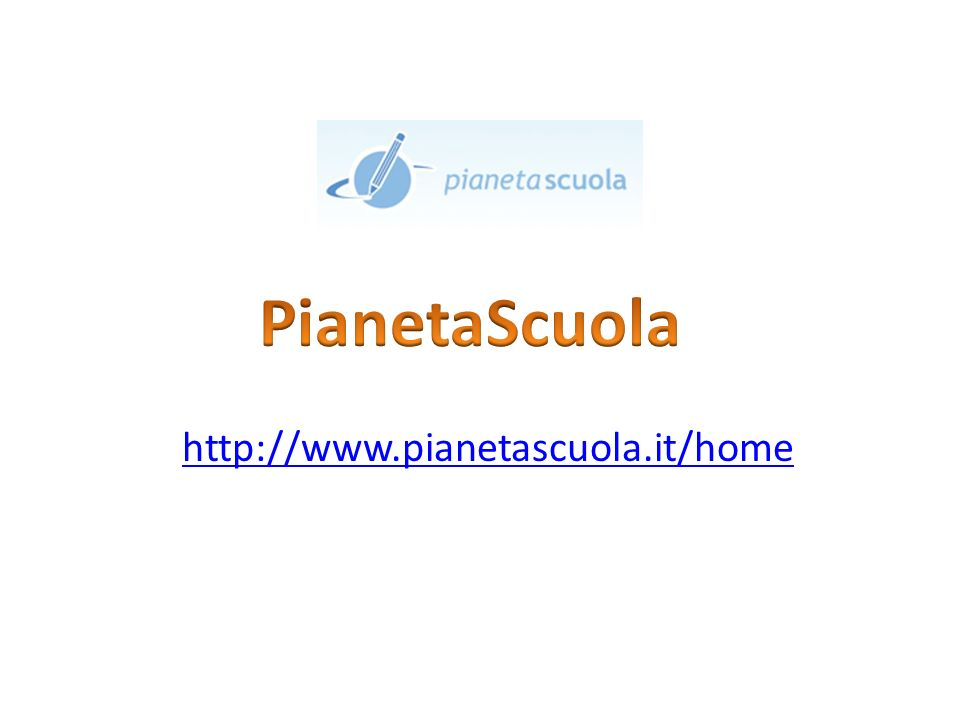 http://www.pianetascuola.it/home
