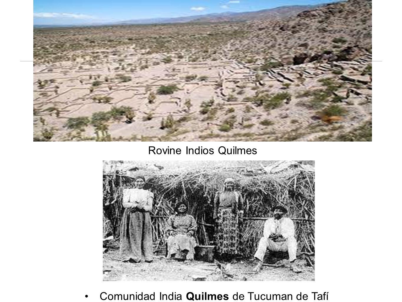 Rovine Indios Quilmes Comunidad India Quilmes de Tucuman de Tafí