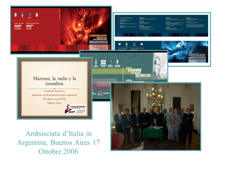 Ambasciata dItalia in Argentina, Buenos Aires 17 Ottobre 2006