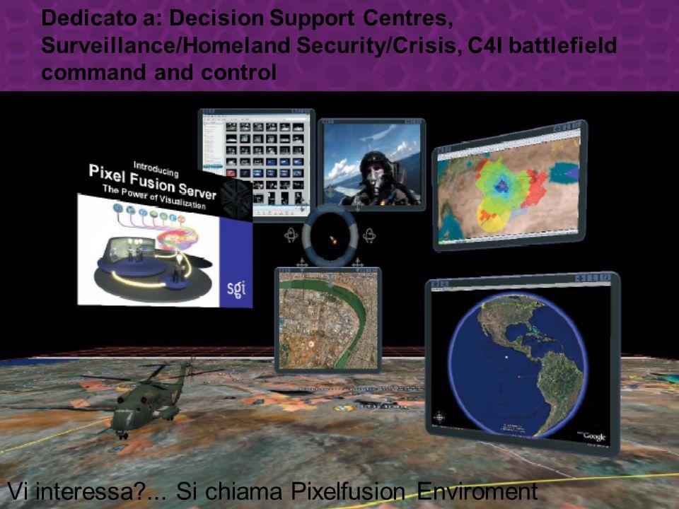 Dedicato a: Decision Support Centres, Surveillance/Homeland Security/Crisis, C4I battlefield command and control Vi interessa?...