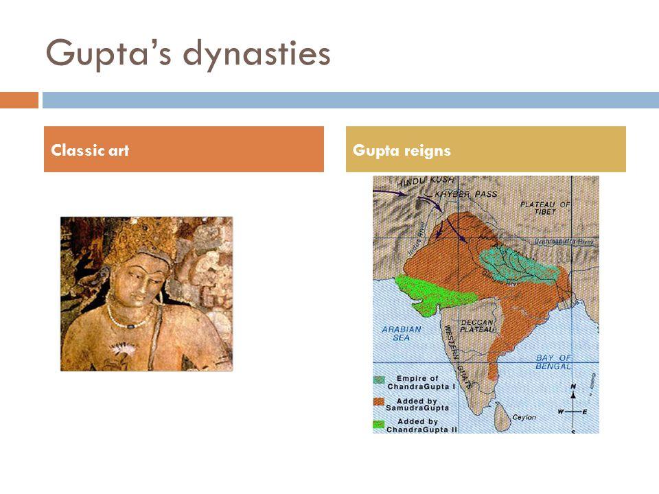 Guptas dynasties Classic artGupta reigns