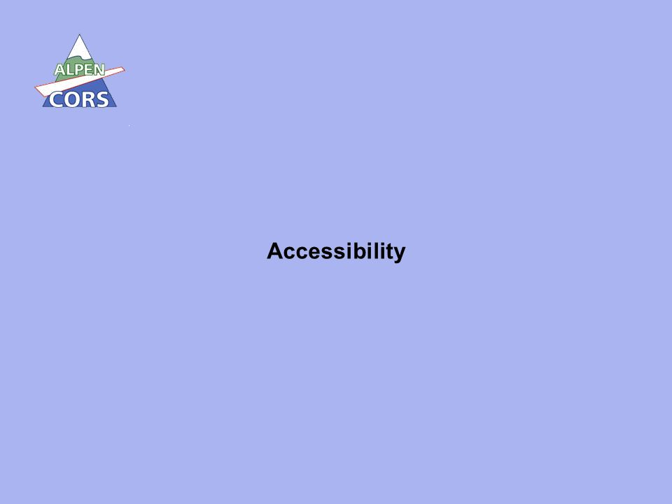 2 Accessibility