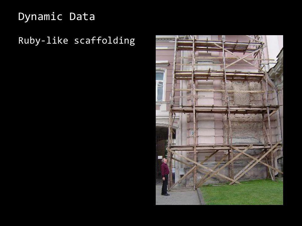 Dynamic Data Ruby-like scaffolding 4