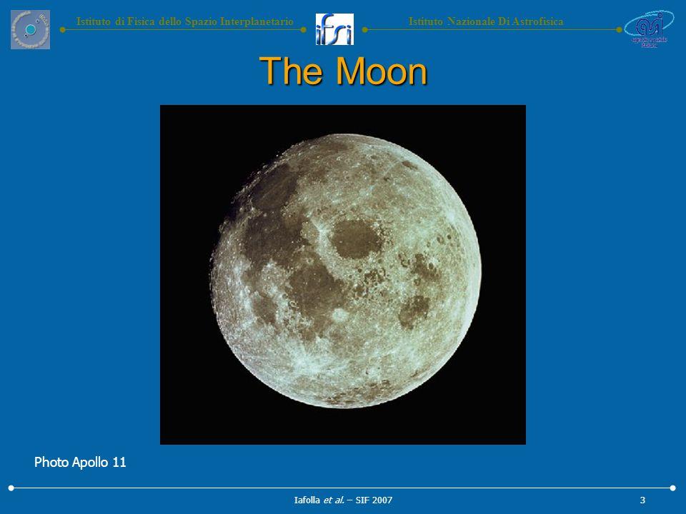 Istituto Nazionale Di AstrofisicaIstituto di Fisica dello Spazio Interplanetario The Moon Iafolla et al.