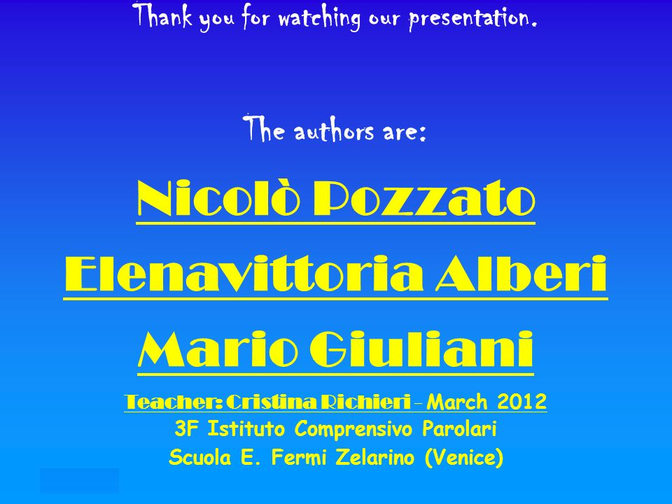 21/07/12 Thank you for watching our presentation.