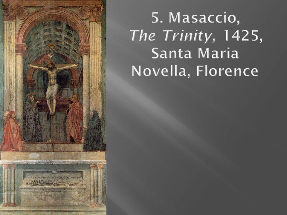 6. Botticelli, Birth of Venus, c. 1484–86, Uffizi, Florence