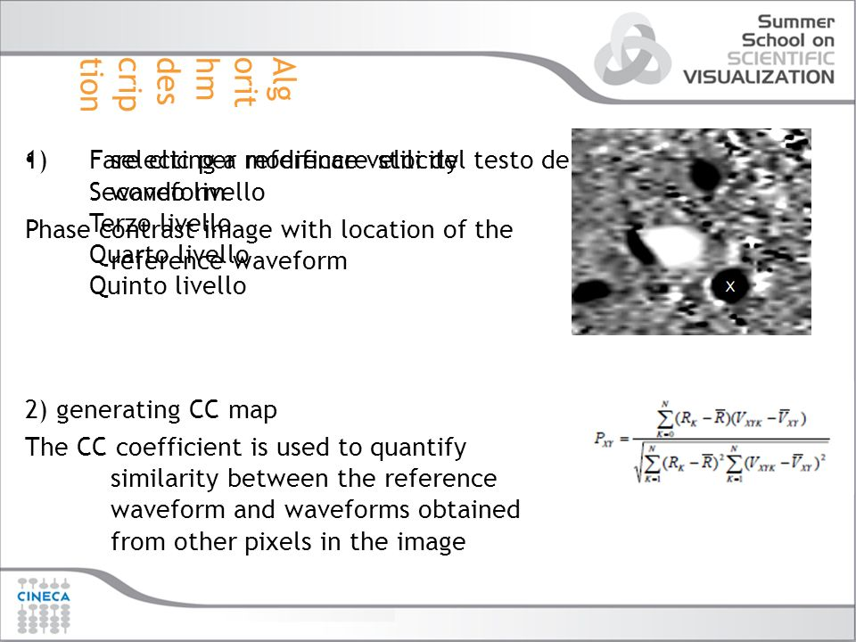 Fare clic per modificare stili del testo dello schema Secondo livello Terzo livello Quarto livello Quinto livello 1)selecting a reference velocity wav