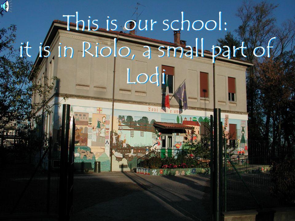 Scuola Primaria Giovanni Agnelli Riolo Lodi IV Circolo School year 2004/05