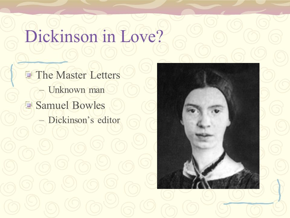 emily dickinson theme of love