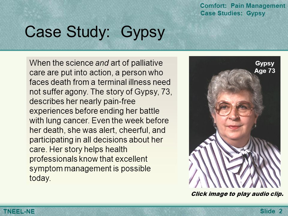 pain management and palliative care essay Palliative care problem palliative care/end of life care essay used to assess our patients' level of pain and effectiveness of the pain management.