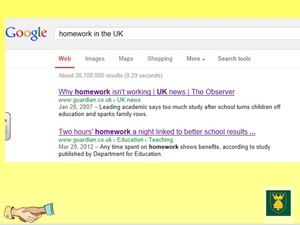 The Benefits Of Homework