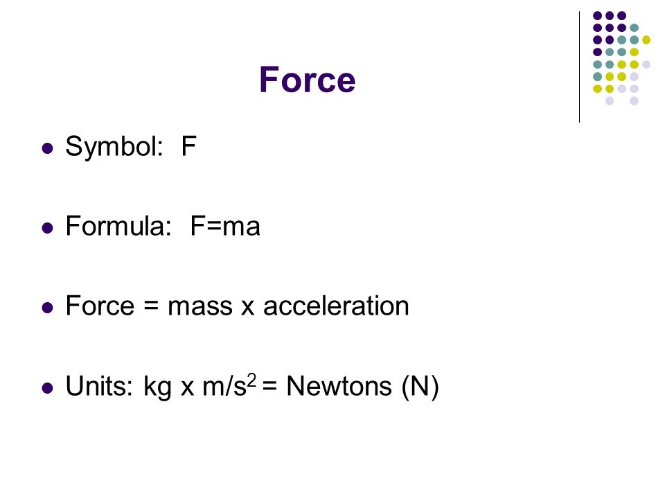 Unit Two: Dynamics Section 1: Forces. Look in glossary of book ...