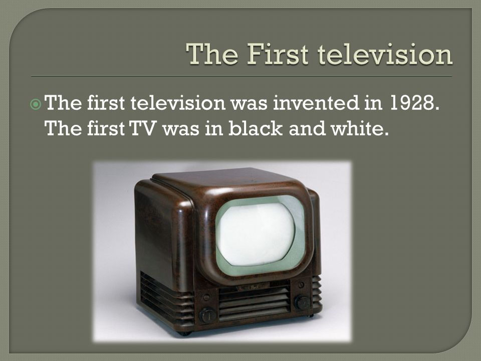 television is the best invention ever essay Model essay #3 model expository the fourth most useful invention is the television with many channels to choose from, and literally thousands of programs.