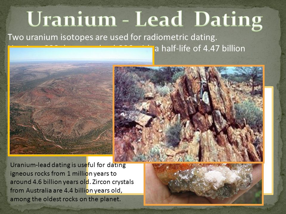 Uranium lead age dating definition nsa