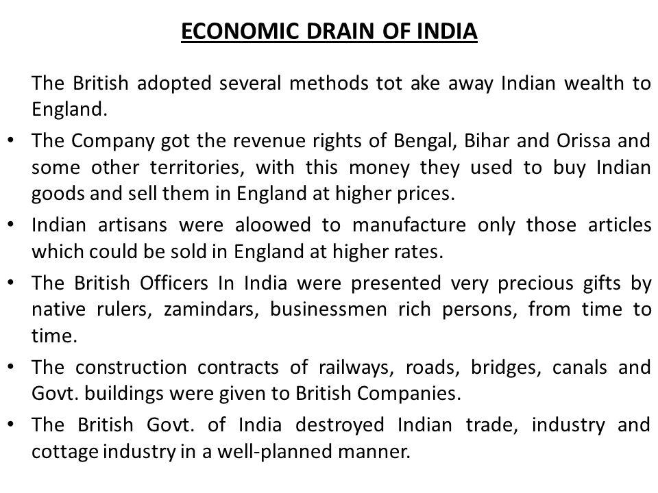 drain of bengal