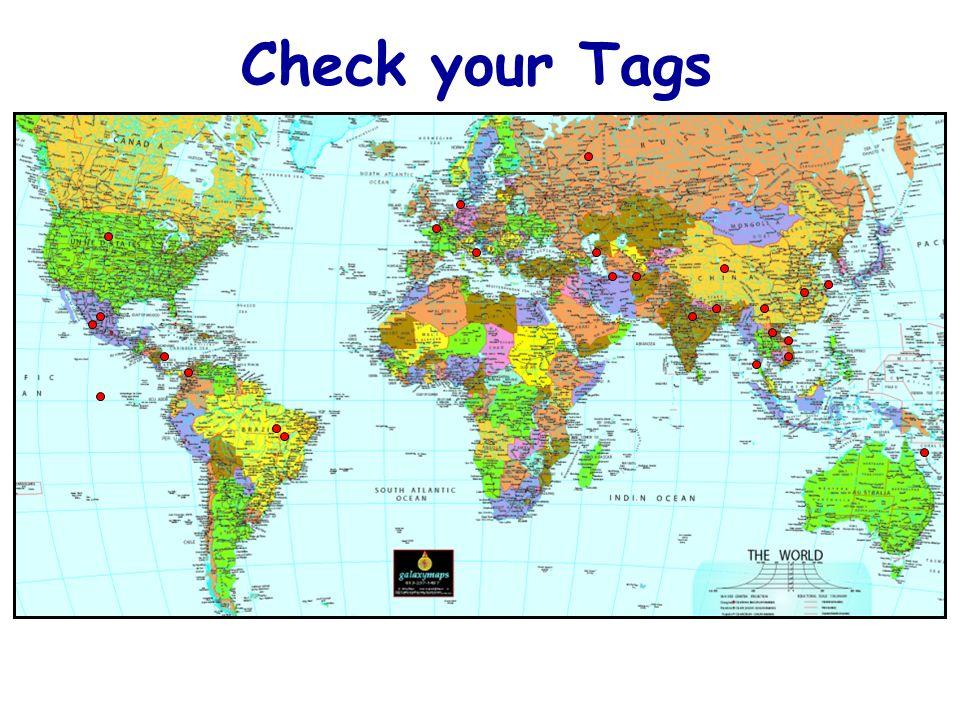 Check your Tags