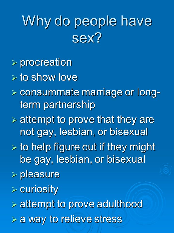 How long do people have sex