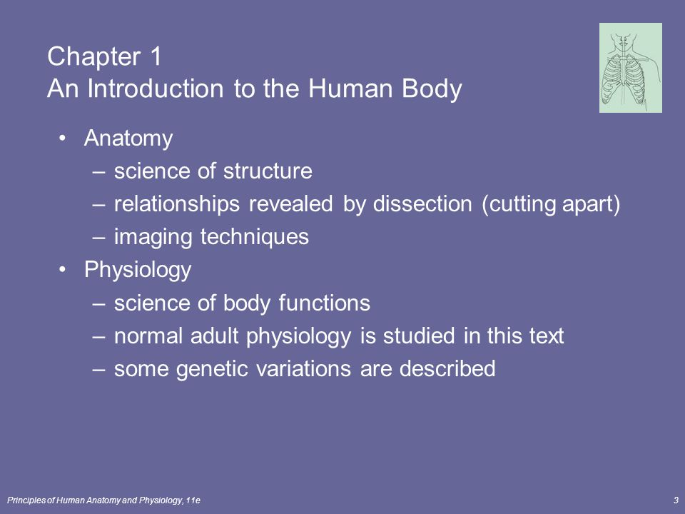 Principles of Human Anatomy and Physiology, 11e1 Chapter 1 An ...