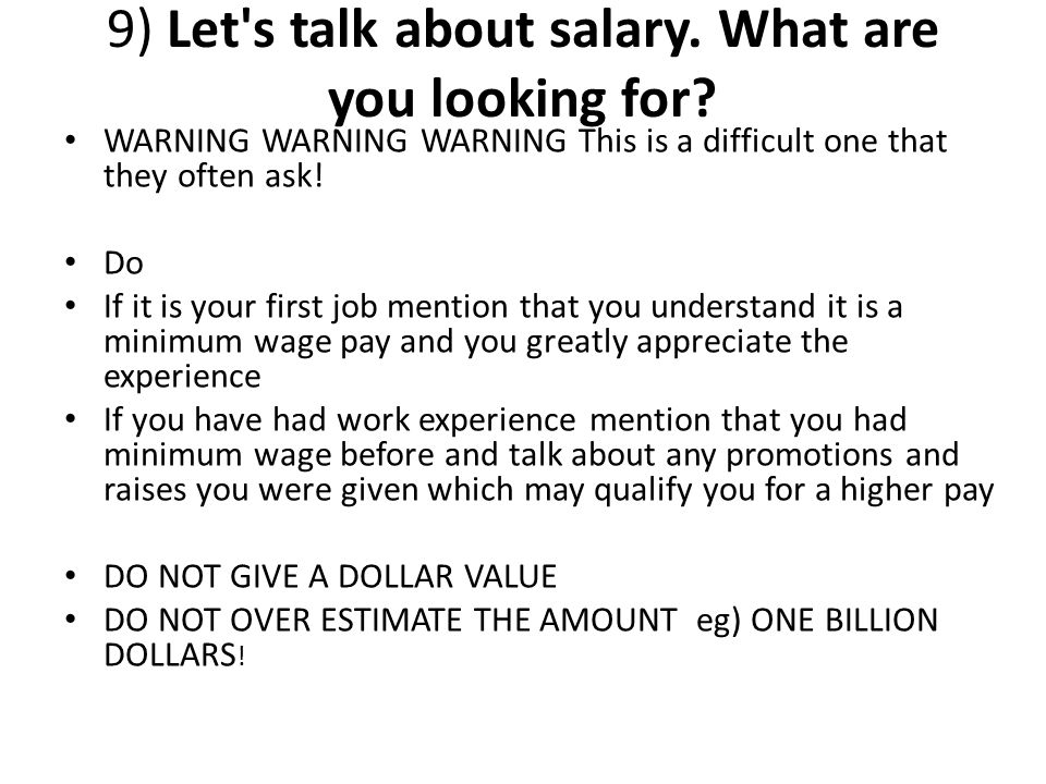 So if in a interview if a manager asked you