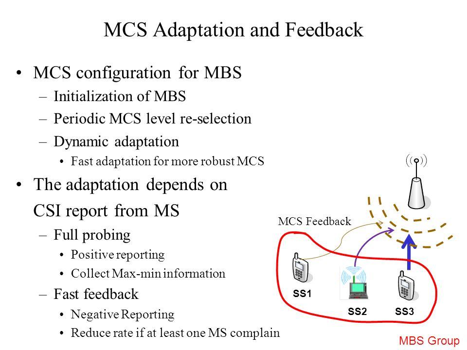 mcs adaptation and feedback mechanism in m mbs ieee presentation, Presentation templates
