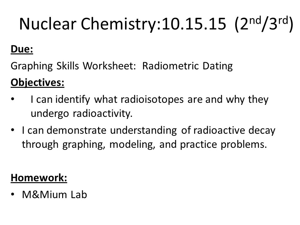 of Radiometric Dating Worksheet Sharebrowse – Radioactive Dating Worksheet