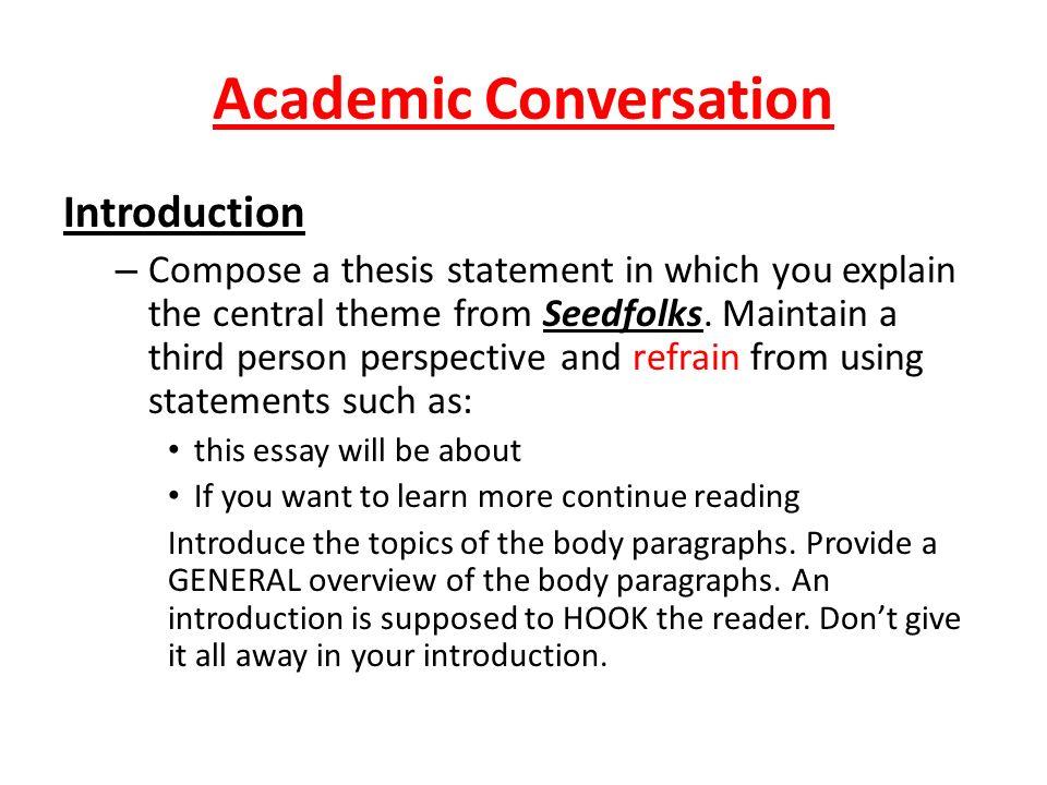 Academic Interests Essay