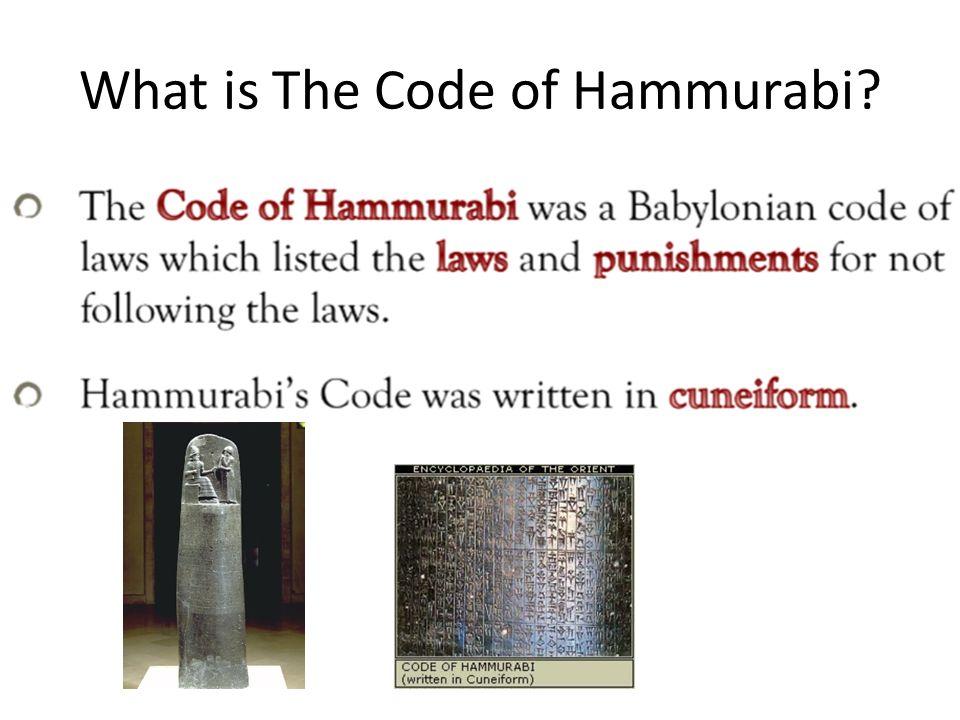 Hammurabis code worksheets