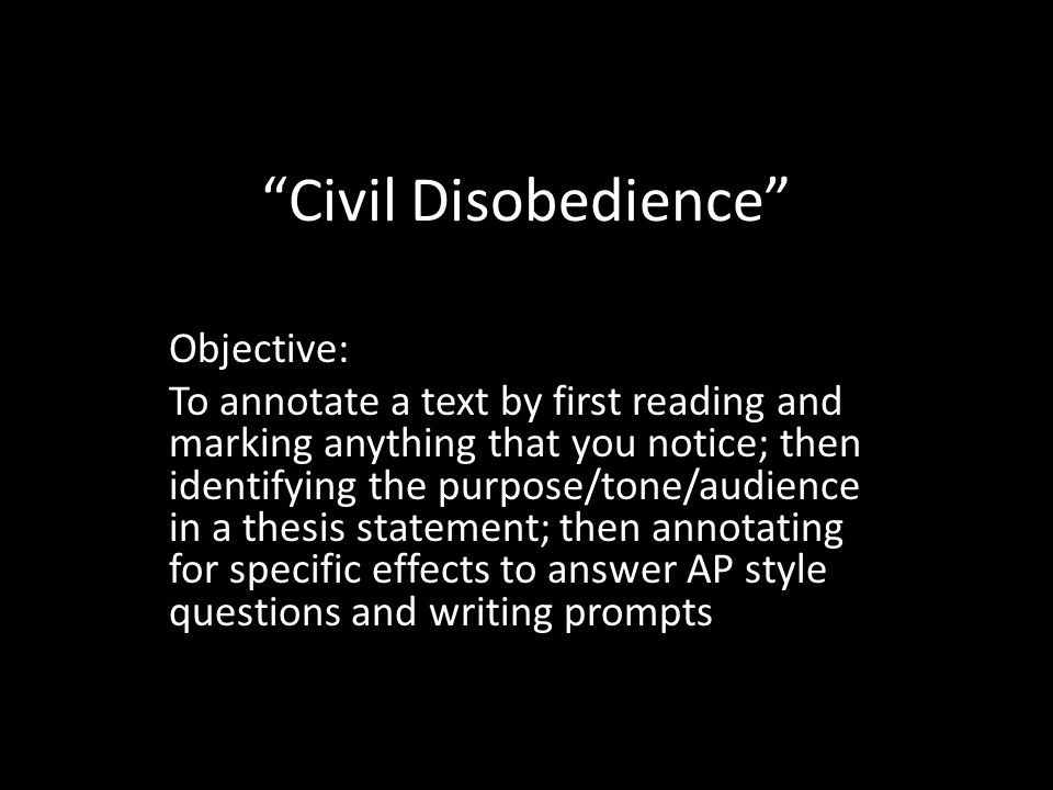 ... An Introduction To The Definition Of Civil Disobedience Civil  Disobedience Extended Definition Essay Introduction Civil Disobedience
