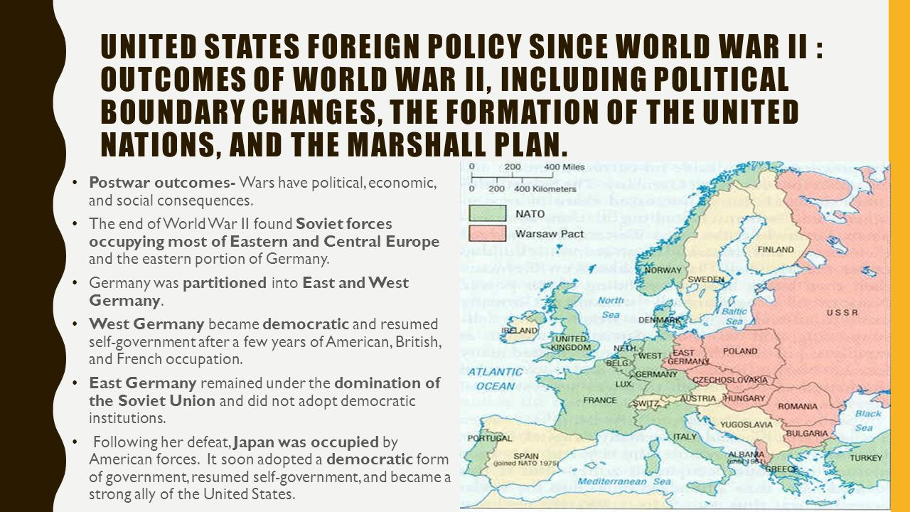 the united states aid to europe after wwii Rise of superpowers after wwii take a primary role in europe, and the united states to act as a massive amount of aid the united states was giving.