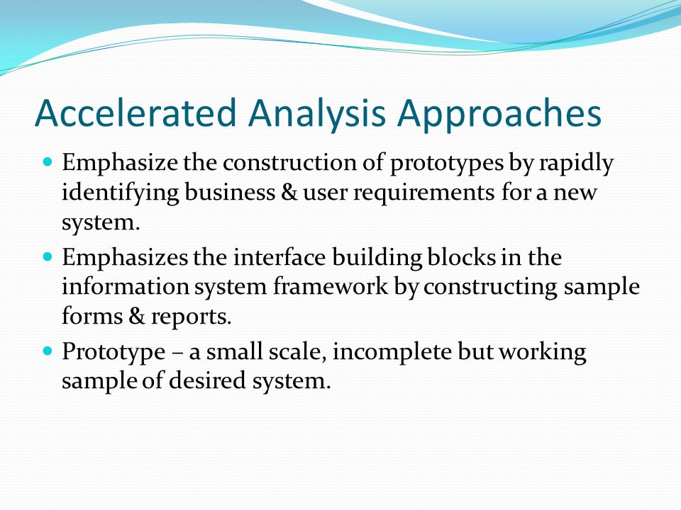 Analysis Phase Of Business System Development Methodology. - Ppt