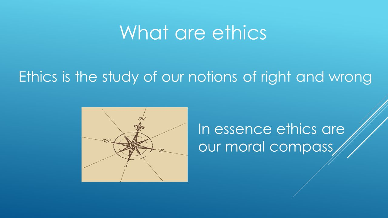 a study of education and the moral compass Legal ethics, rules of conduct and the moral compass –considerations from a law student's perspective chris h van zyl and jo-mari visser.