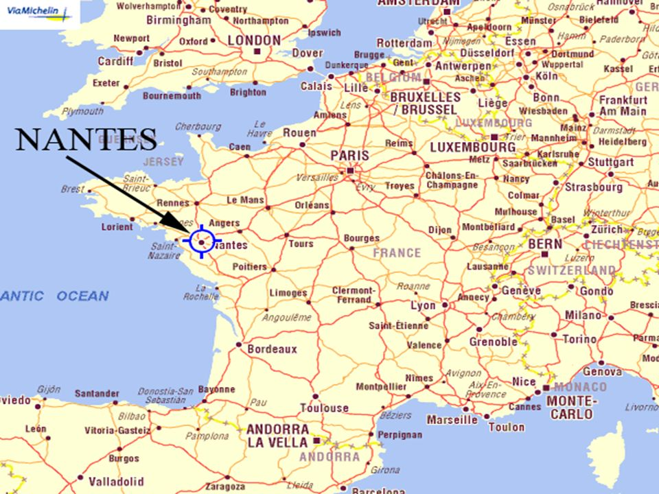 NANTES Raquel Valverde Some Boring Facts In Western France - Where is france located