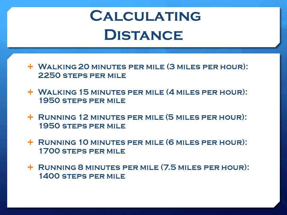 steps per mile