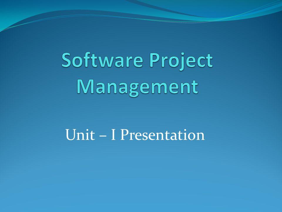 Unit – I Presentation