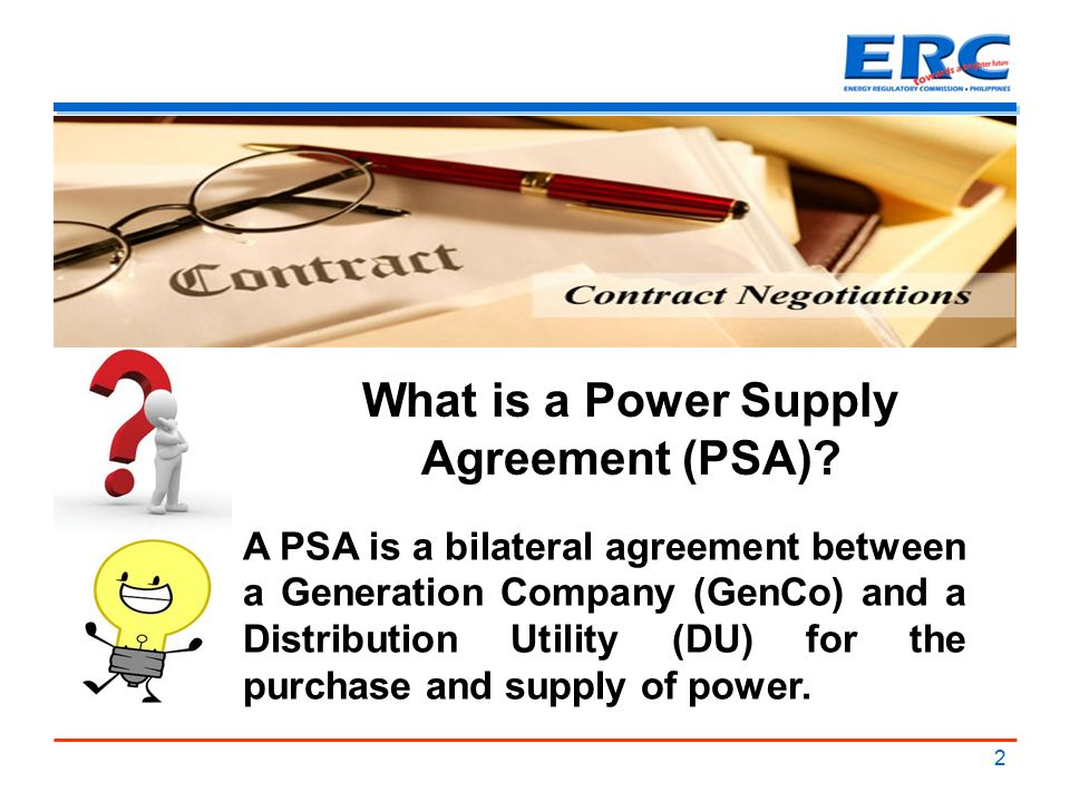1 basic concepts on power supply agreement psa francis saturnino c 2 what is a power supply agreement psa platinumwayz