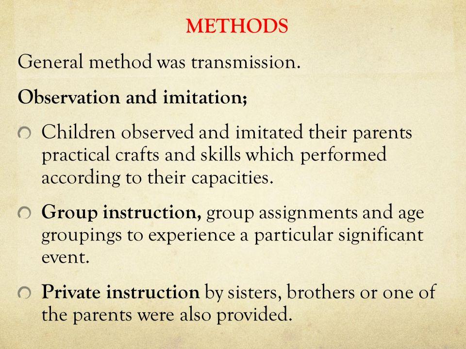 METHODS General method was transmission.