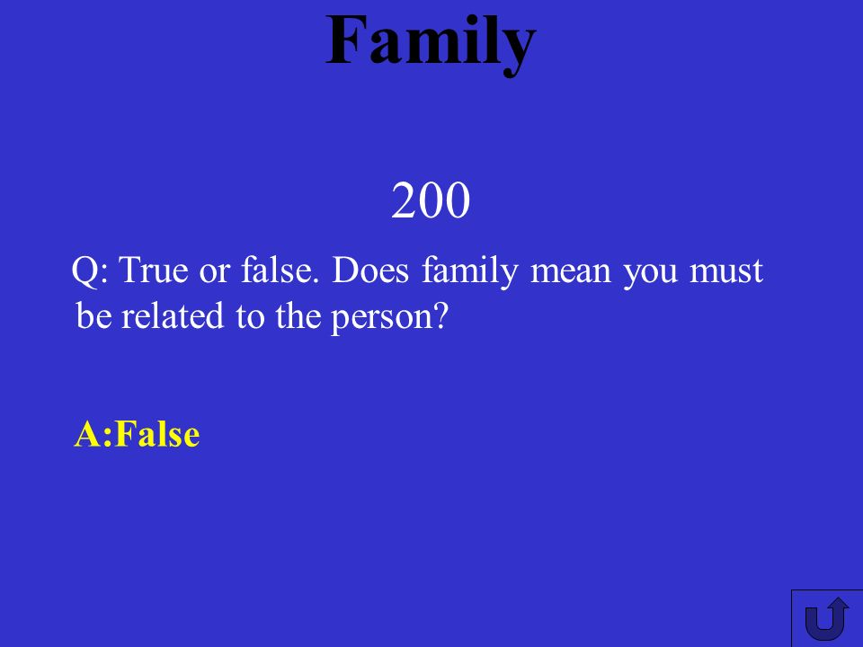 Family 100 A: families may span several generations, several households, and may change in response to life events such as divorce, remarriage, and children leaving the parental home.