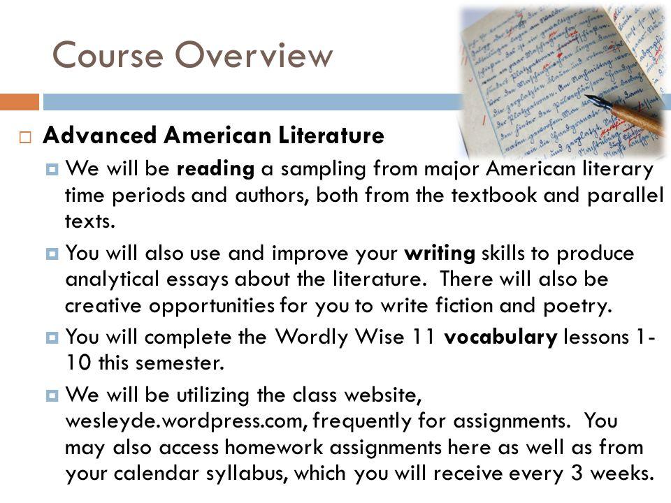 Buy american literature essay topics