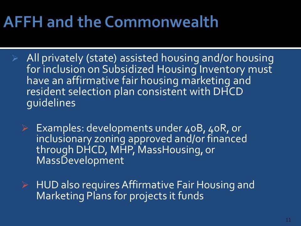 Affirmative fair housing marketing plan checklist - Home design and ...