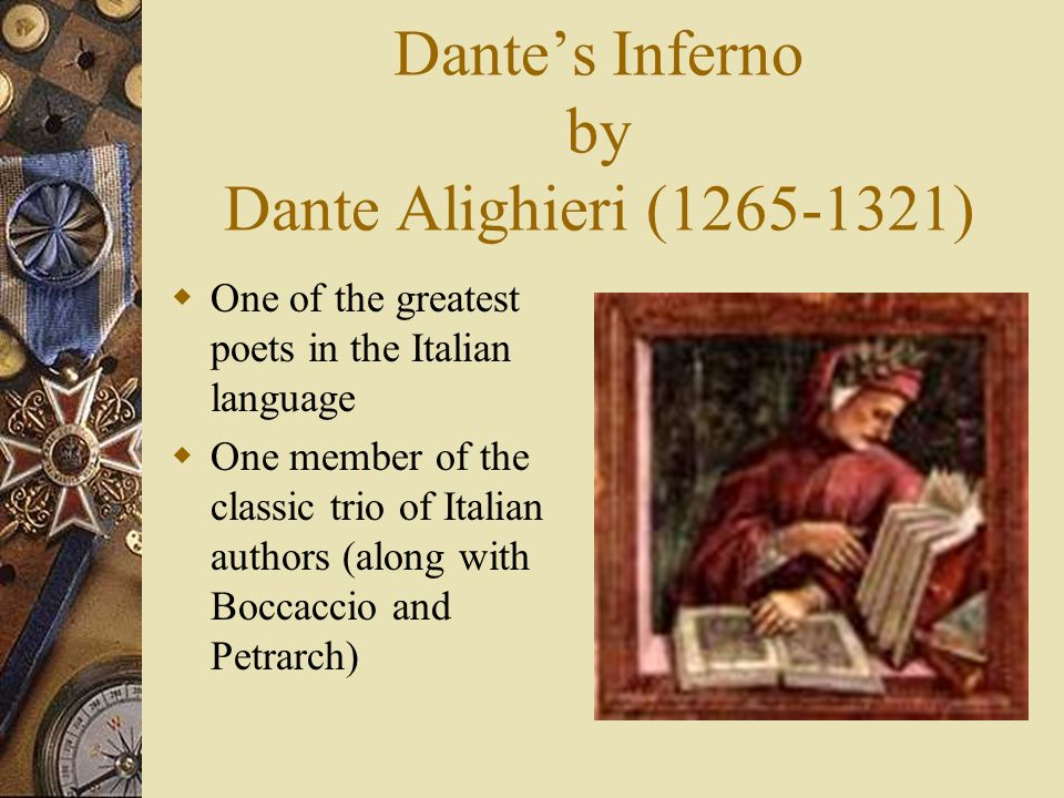 a biography of dante alighieri one of the greatest poets of the middle ages Dante alighieri, one of the greatest poets of the middle ages his epic poem the divine comedy ranks among the finest works of world literature.