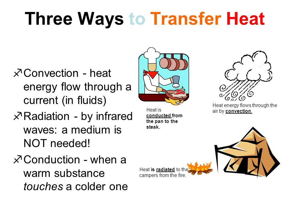What is Heat? Heat is the transfer of thermal energy from one ...