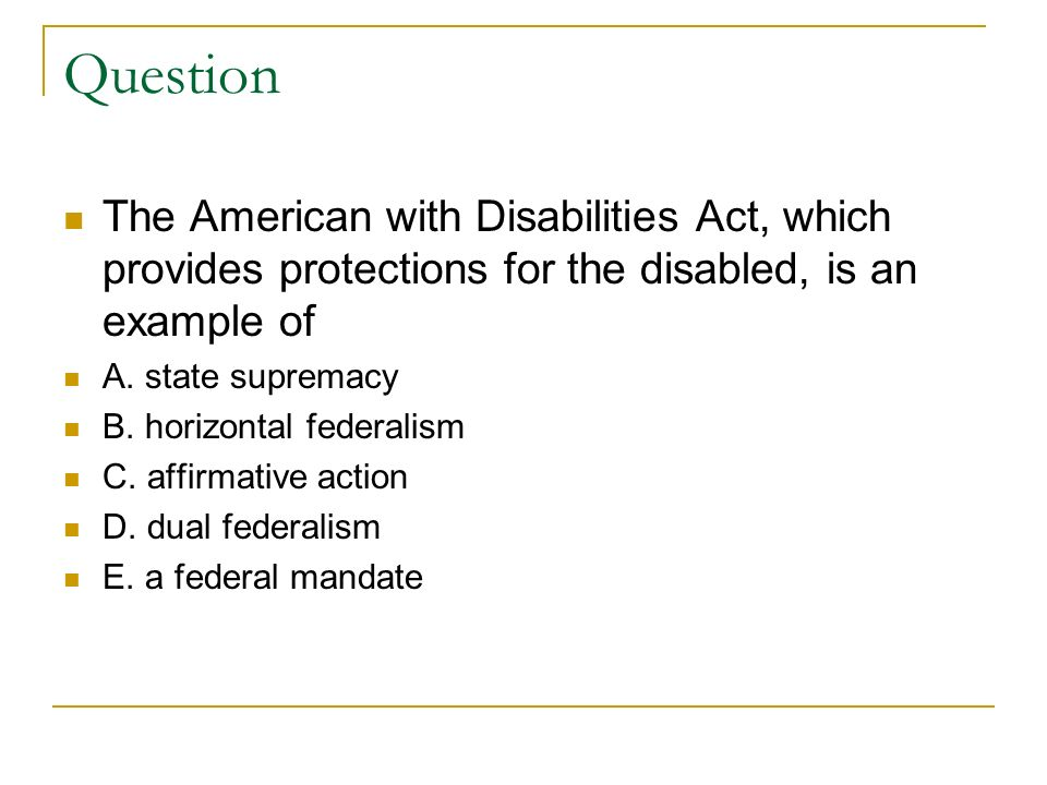 American Government Multiple Choice *please help*?