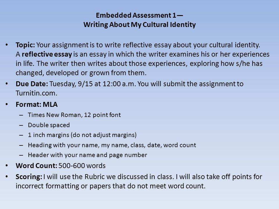 how to write a reflective essay Writing a reflective essay makes you ponder on what you have learned and understood thus far  steps to follow for writing a reflection paper on a class.