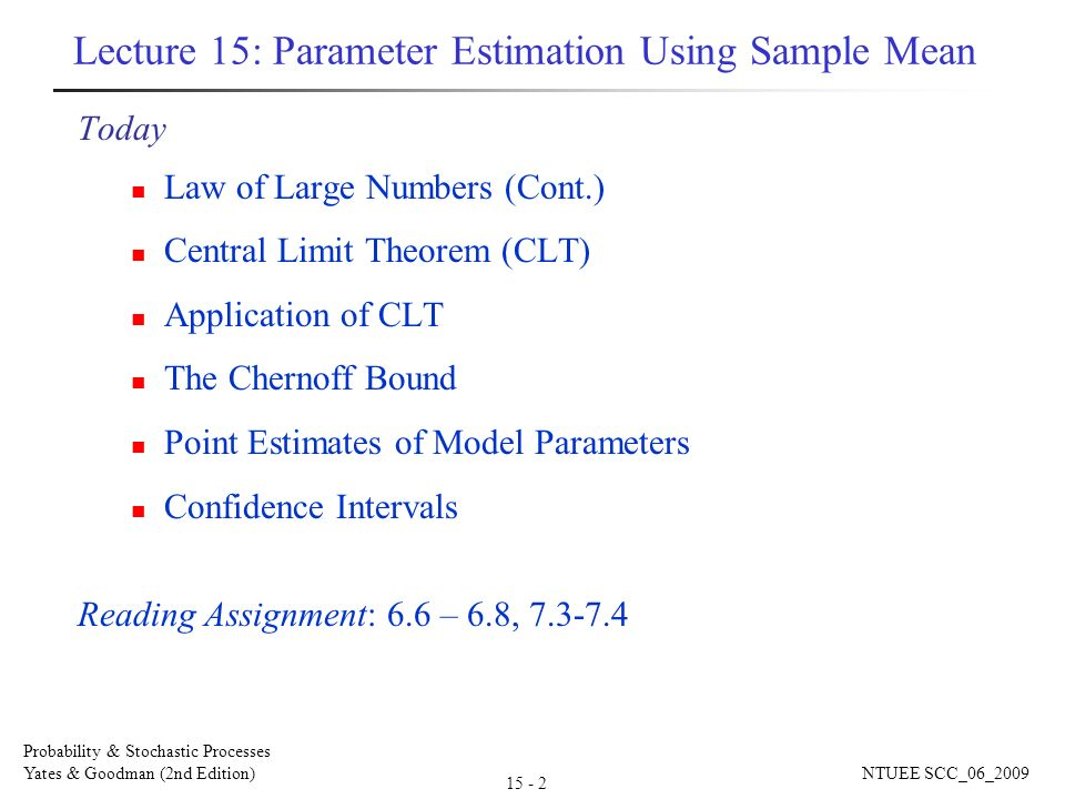 why is the central limit theorem clt important in a study of statistics The central limit theorem (clt) • important points: 1 each box represents the mean of a sample from psy 031 at tufts.