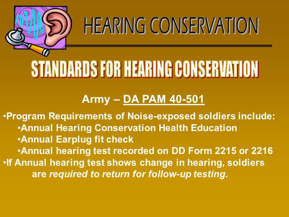 Hearing Conservation Hearing Profiles & Hearing Loss: Their Impact ...
