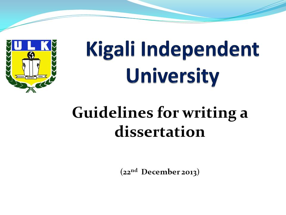 Dissertation These