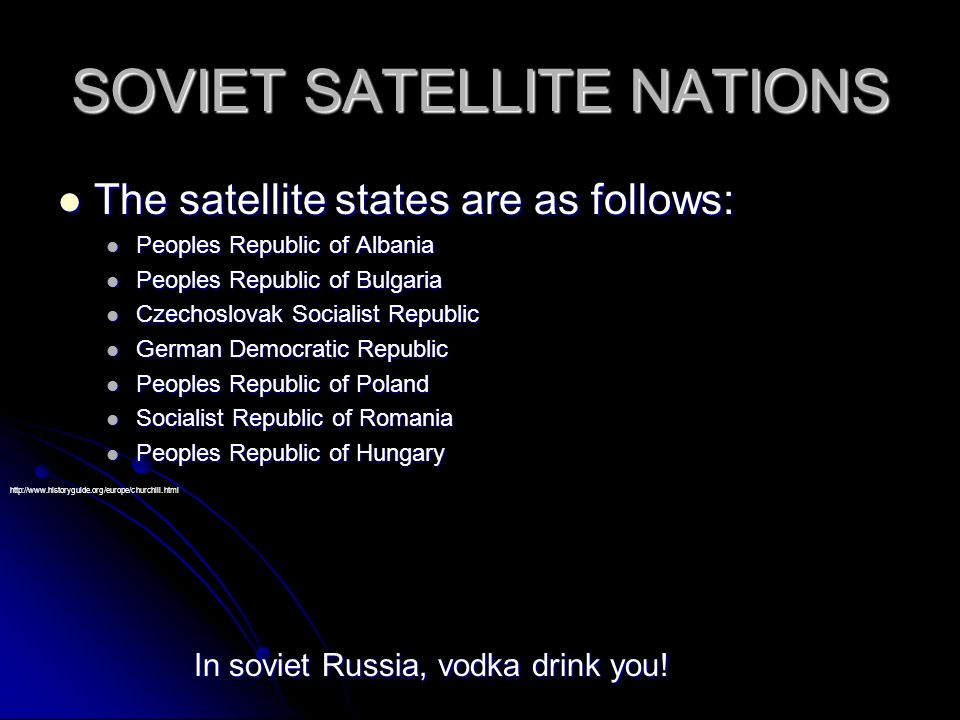 The Iron Curtain and Soviet Satellite Nations By Joel and Alex ...
