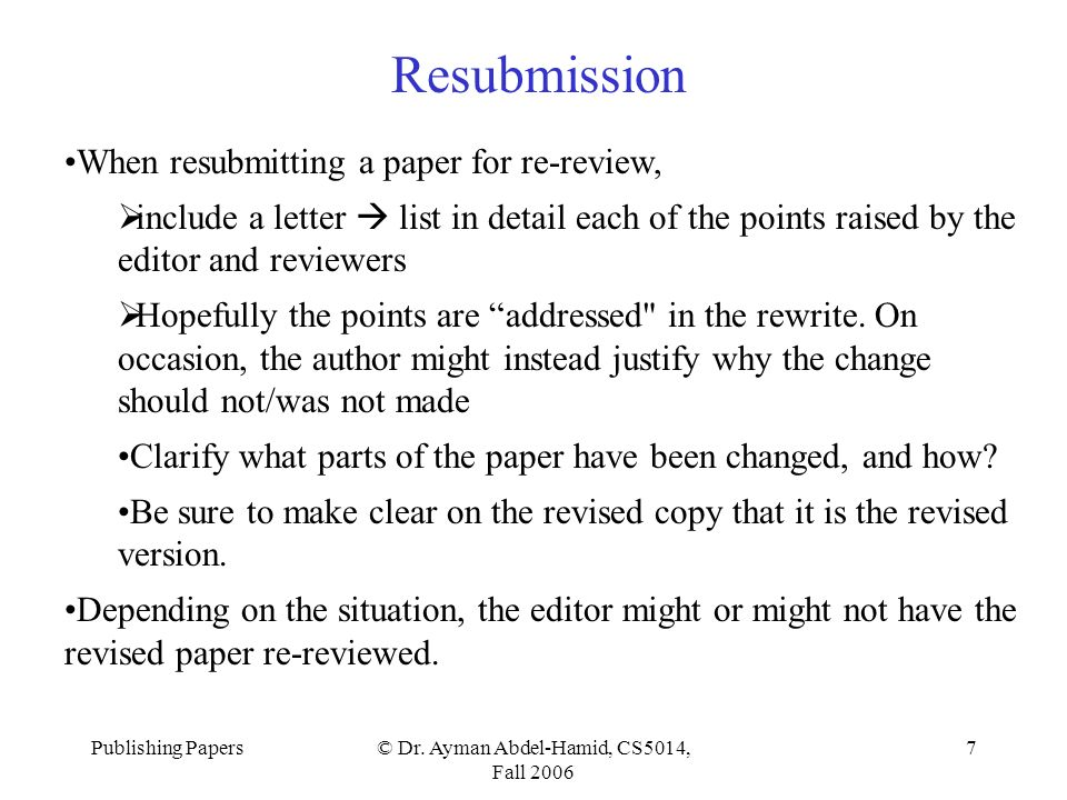 nih cover letter resubmission